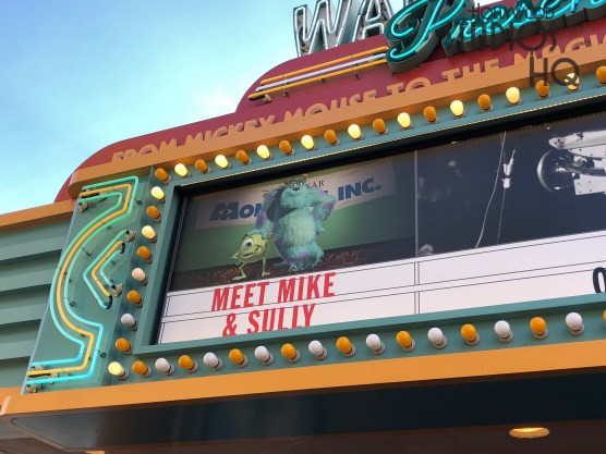 Guests can now meet Mike and Sully From Monsters, Inc. inside Walt Disney Presents. Disney's Hollywood Studios. Photo by John Capos