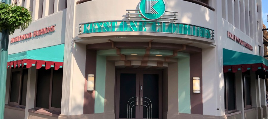 The popular Keystone Clothiers on Hollywood Blvd. has darkened windows to begin a refurbishment. The interior photo below reveals the sales floor has been emptied of all merchandise and fixtures. Stay tuned to Hollywood Studios HQ for future developments. Disney's Hollywood Studios. Photo by John Capos