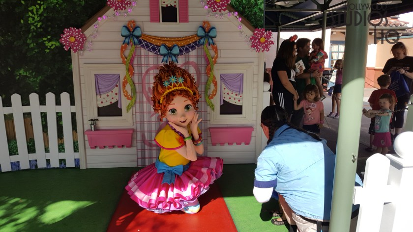Guests of all ages can now meet the 6 year old Fancy Nancy character from the Disney Junior TV series. This new meet and greet opportunity is held daily in the Animation Courtyard from 9:35am to 6pm. Hollywood Studios HQ provides the latest in attraction news. Disney's Hollywood Studios. Photo by John Capos