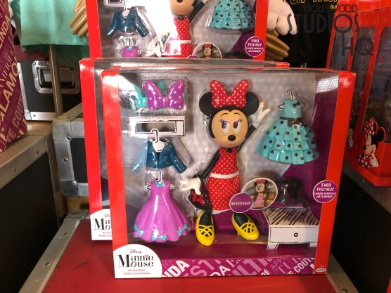 Young guests will delight in the new array of Minnie Mouse accessory set toys now on shelves at The Studios Store. Toys include a detailed 21 piece pastry oven play set that features lights and sounds. Hollywood Studios HQ provides viewers the latest merchandise updates. Disney's Hollywood Studios. Photo by John Capos