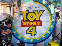 Guests can select from an array of Disney Pixar Toy Story 4 child apparel and toys commemorating the new motion picture at the Beverly Sunset Boutique. Located on Sunset Blvd. , this retail location offers colorful youth tee shirts, drinking mugs, figurines, and plush characters for shoppers. The film premiers next month in June. Hollywood Studios HQ provides the latest Park merchandise news. Disney's Hollywood Studios. Photo by John Capos
