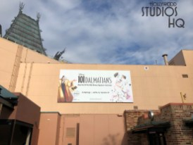 Crews have erected additional outside construction walls in the Chinese Theatre courtyard as work continues on the future Mickey's & Minnie's Runaway Railway attraction. Likewise, new giant billboards announcing the the upcoming DVD release of two Disney classic films are visible on the rear of the Theatre. Stay tuned to Hollywood Studios HQ for all the latest Park refurbishment updates. Disney's Hollywood Studios. Photo by John Capos