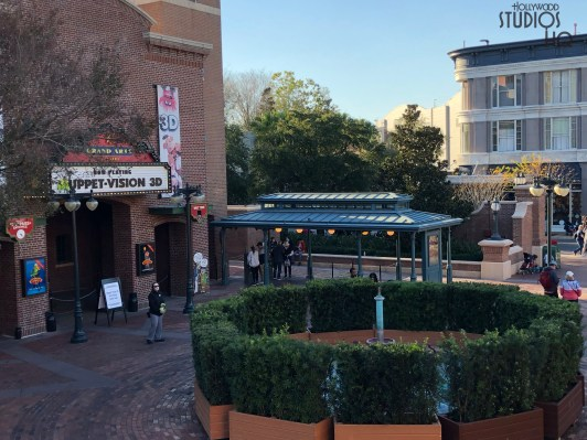 The popular MuppetVision 3D attraction is undergoing refurbishment. Guests will be able to enjoy this classic show on February 9 when the attraction is scheduled to reopen. Stay tuned to Hollywood Studios HQ for all Park updates. Disney's Hollywood Studios. Photo by John Capos