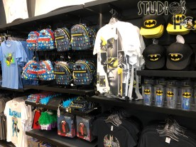 the MEN IN BLACK Alien Attack attraction , shoppers will find a selection in this location of apparel, comics, wall prints, and drinking cups that are themed in Superman , Batman, and others popular characters. Stay connected to Hollywood Studios HQ for all the latest merchandise updates. Universal Orlando. Photo by John Capos
