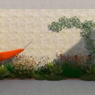 stadstuin met tuinkast en groendak