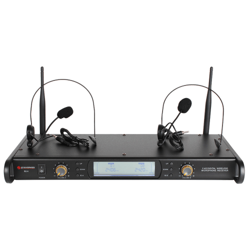Studiospares 2.4GHz Dual Headset Wireless System