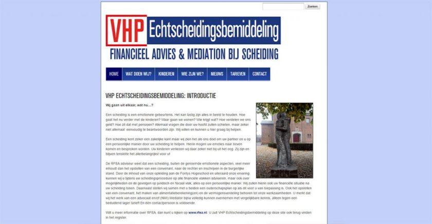 VHP Echtscheidingsbemiddeling