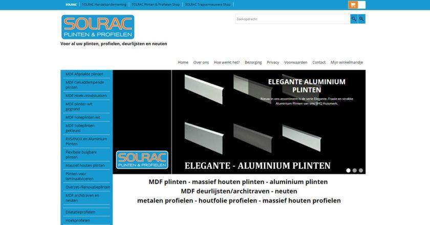 SOLRAC Plinten & Profielen Shop