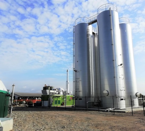 Impianto di Biogas Termofilo – 300 kW