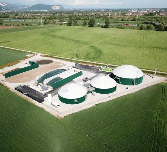 Impianto di Biogas Mesofilo – 300 kW