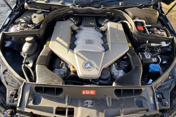 Studio Ten Mercedes C63 engine before