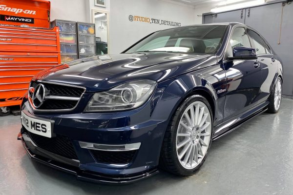 Studio Ten Mercedes C63 front pass side