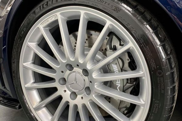 Studio Ten Mercedes C63 wheel front