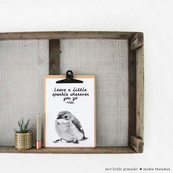 Printable-poster-vogeltje