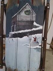 Nichole Phelps, A Barn in Winter