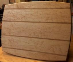 Mike Lynch, Birdseye Maple cutting board