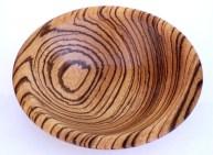 Richard Heines, Jr., African zebra wood bowl