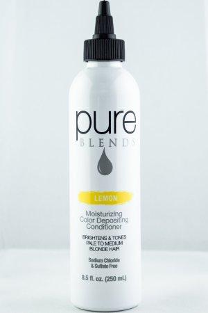 Pure Blends Hydrating Color Depositing Conditioner – Lemon | Studio Trio Hair Salon