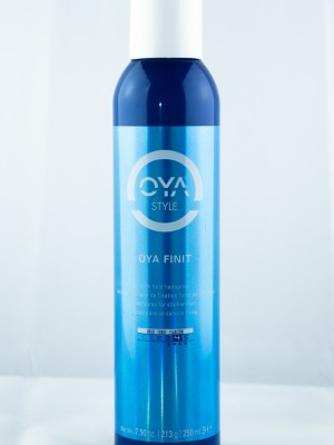 OYA Finit Firm Hold Hairspray | Studio Trio Hair Salon
