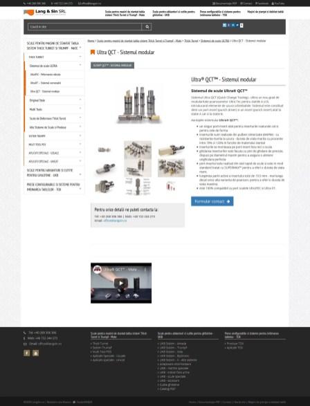 Realizare site LangSin Brasov