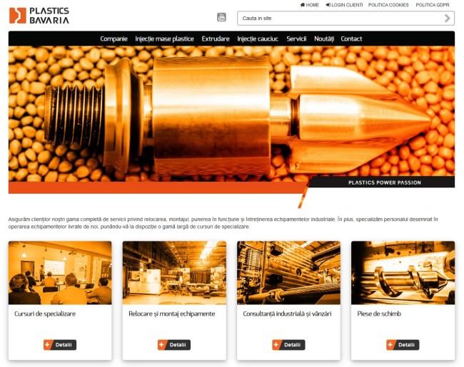 Realizare site de prezentare Brasov