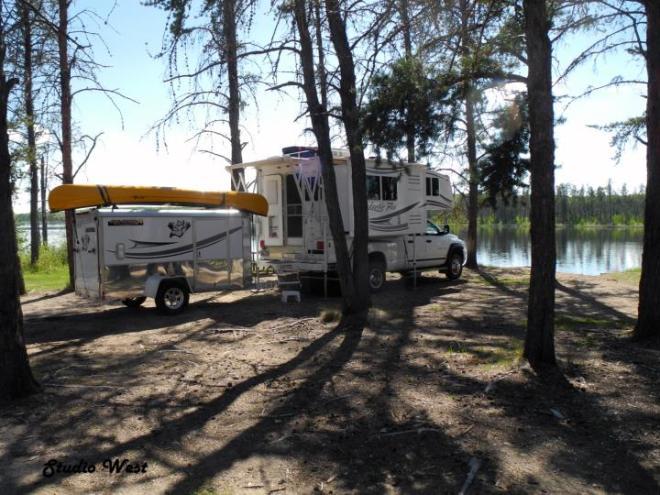 RV living full time camper