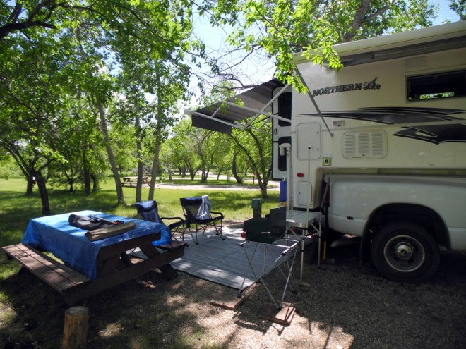 3 Rowan's Ravine campground
