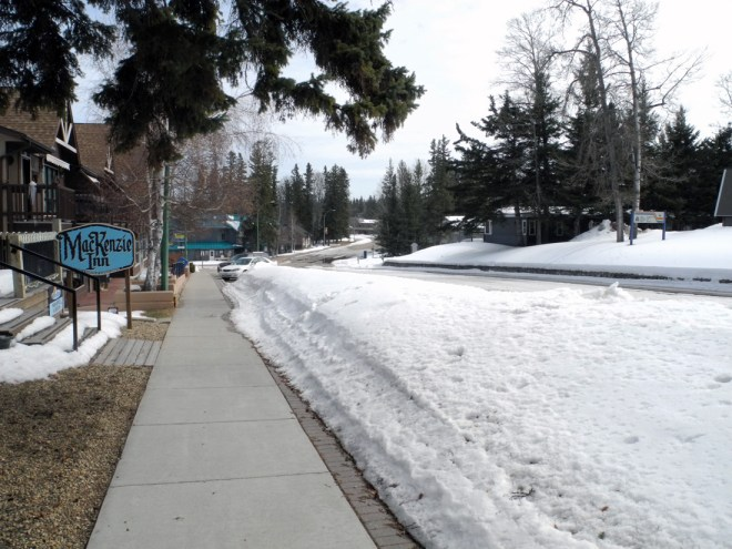 Downtown Waskesiu