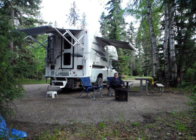 The Narrows campground