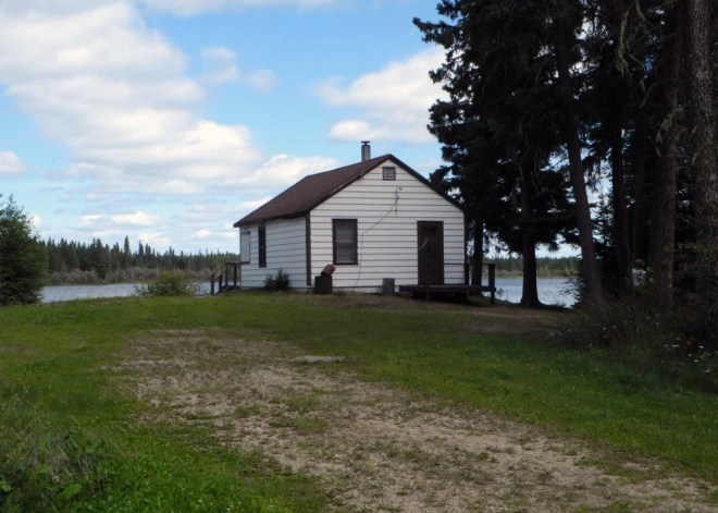 Rangers cabin at Iskwasum