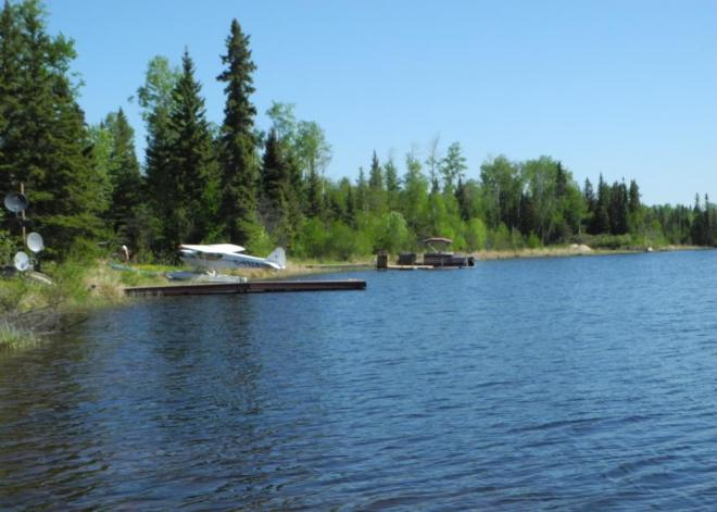 Cranberry Portage float planes