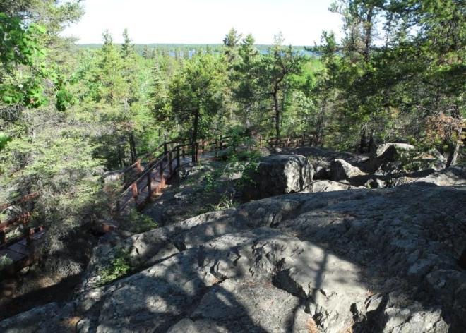 Bakers Narrows lookout