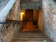 Siedlisko w Gliwicach - wejście do piwnicy