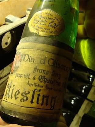 Siedlisko w Gliwicach - stare wino w piwnicy