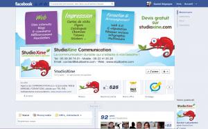 525 fans sur la Page Facebook de StudioXine
