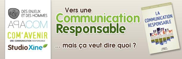 Communication responsable et durable