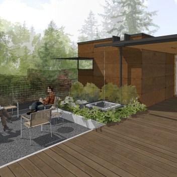 hilltop bellevue residence rendering