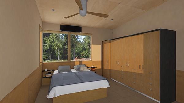 Studio Zerbey Olympic Forest Cabin-10