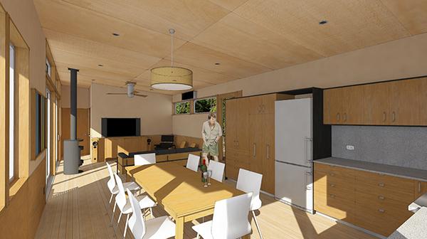 Studio Zerbey Olympic Forest Cabin-8