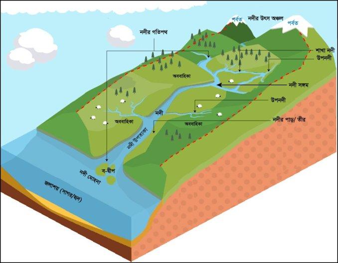 নদী ব্যবস্থা