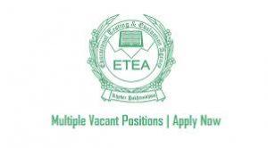 All ETEA Test Roll No Slip 2021 Download Online