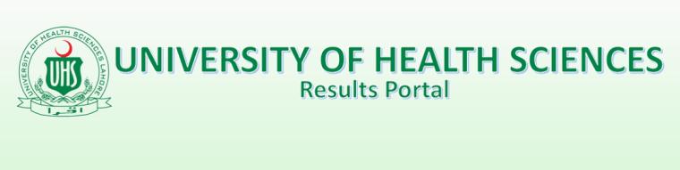 University Health Science UHS Result 2021 Merit List