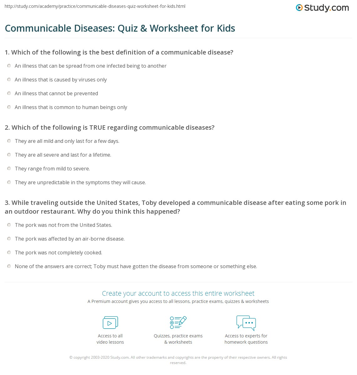 Communicable Disease Definition