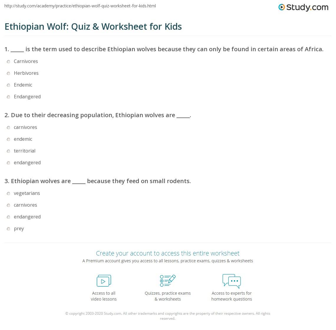 Wolf And Deer Population Worksheet