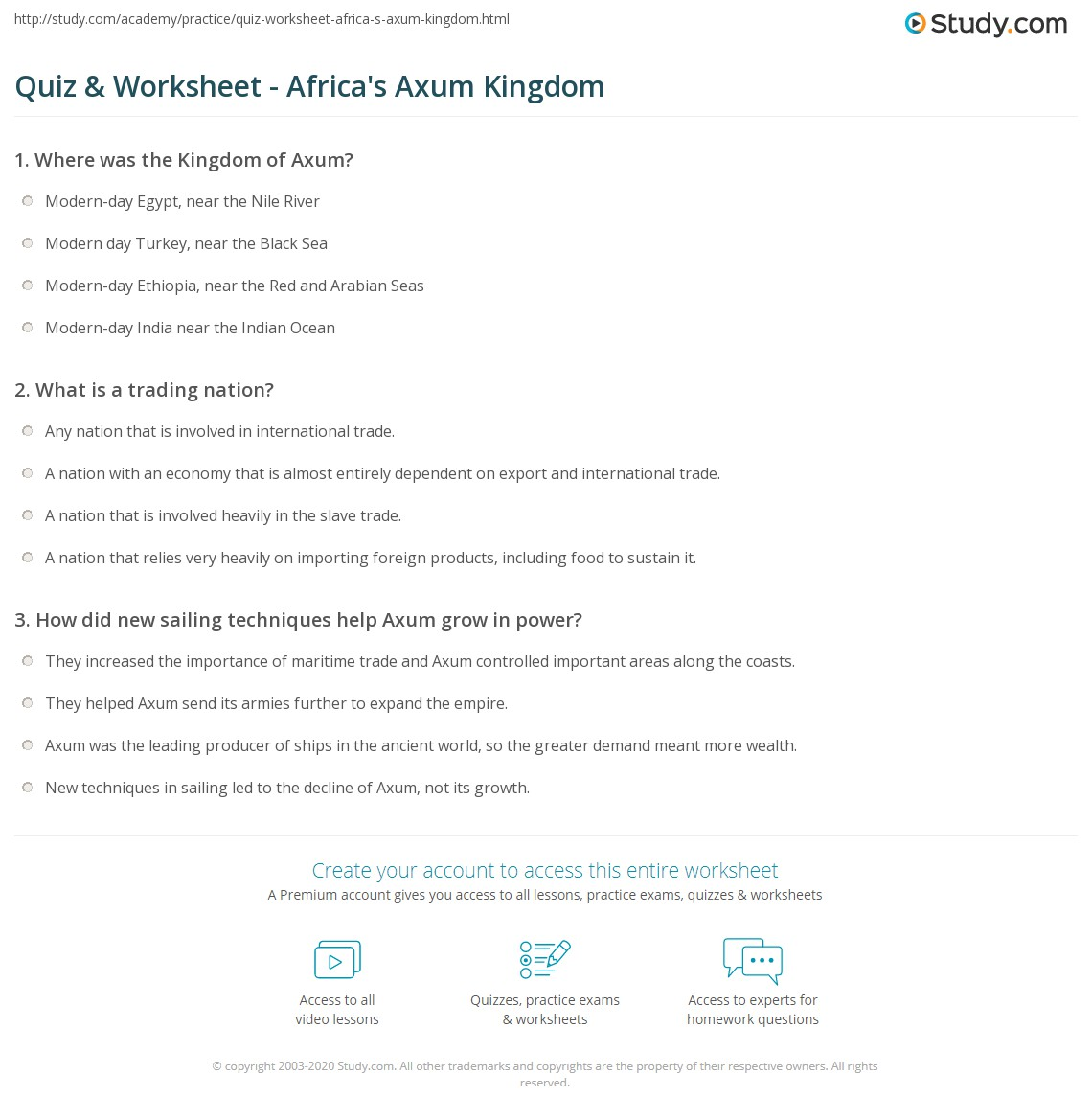 Which Helped Lead To Aksums Rise To Power Chapter 10