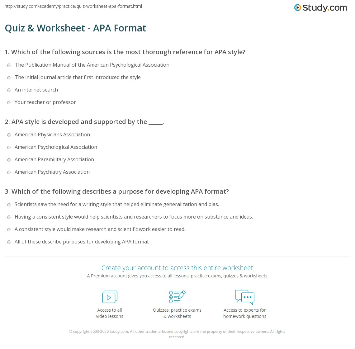 Apa Format What Is It What Is Apa Format 01 11