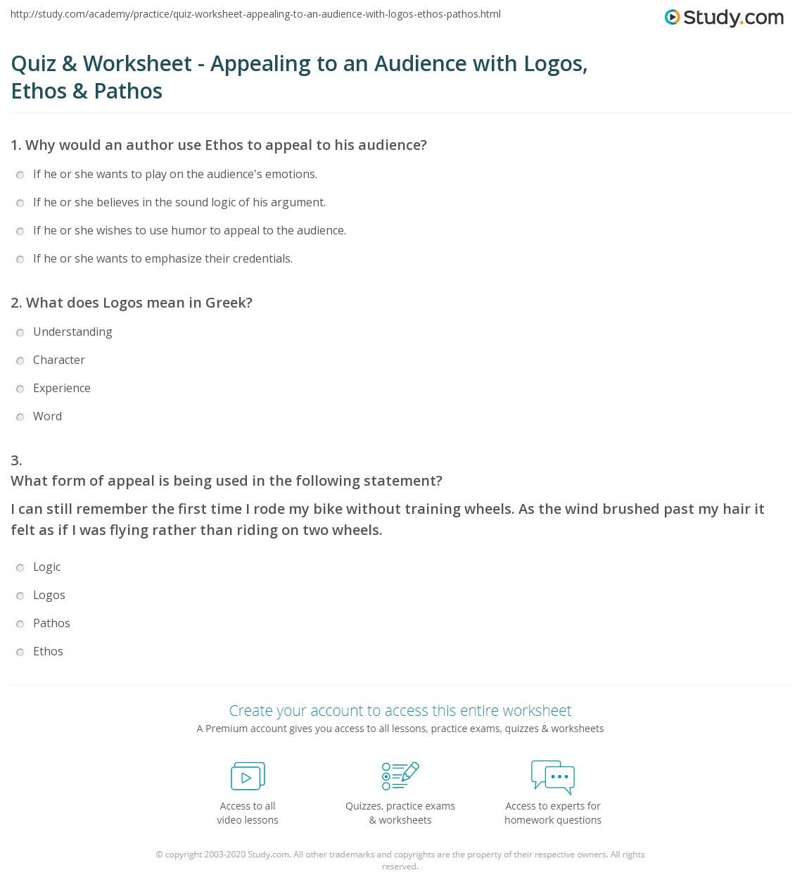 Explain Ethos Pathos And Logos Modes Of Persuasion 02 19
