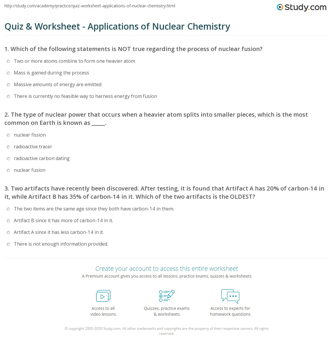 Beautiful Tom Schoderbek Chemistry Nuclear Decay Half Lives Worksheet