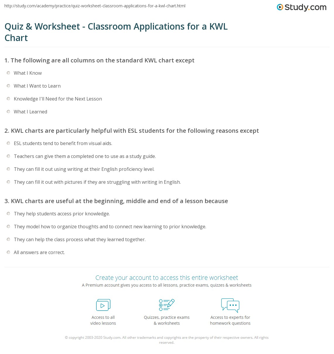 Worksheet Kwl Worksheet Grass Fedjp Worksheet Study Site
