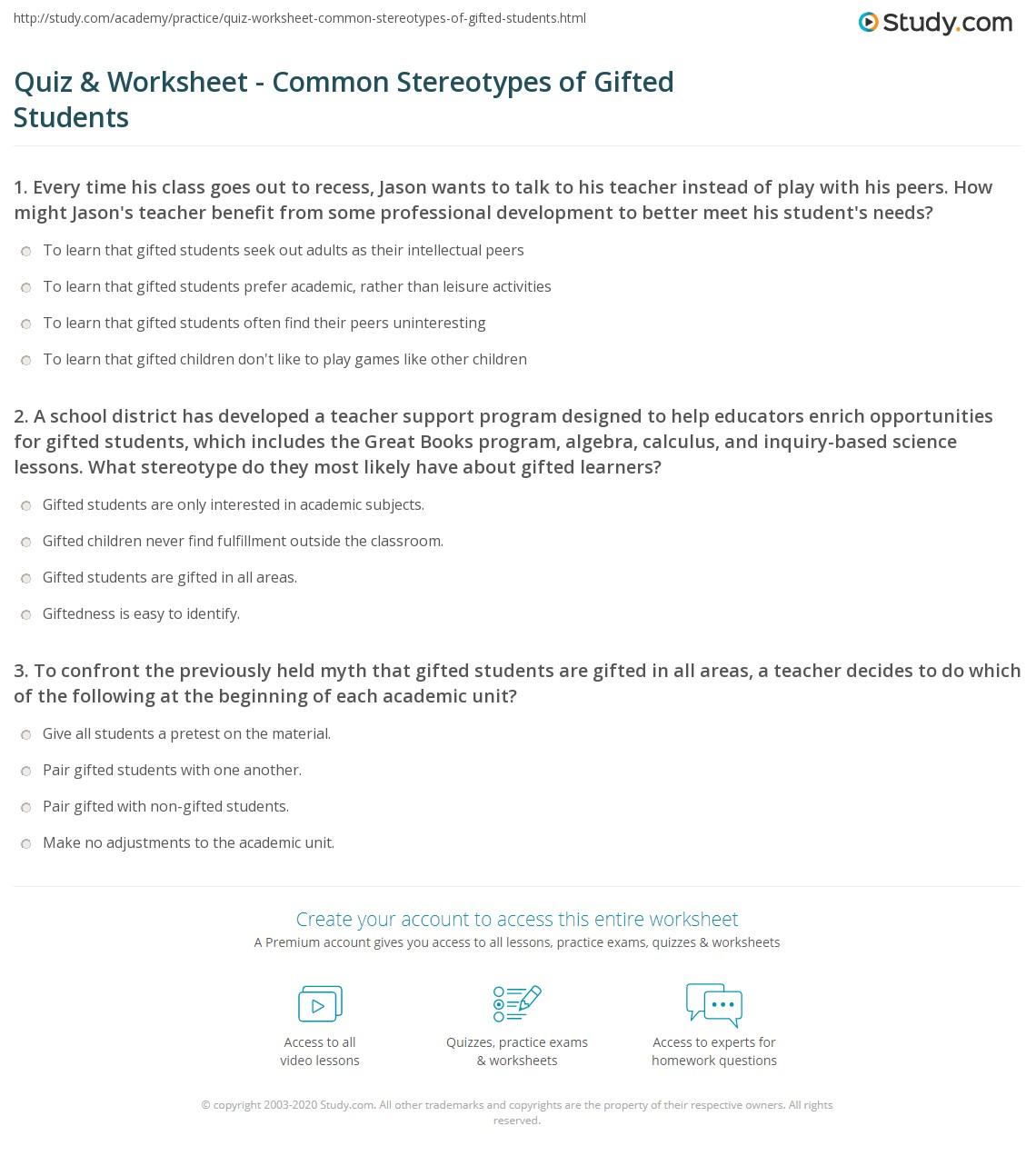 Meet The Student Worksheet